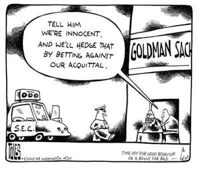 Cartoon Goldman hedge