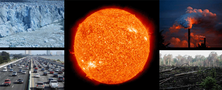How Solar Radiation Impacts on Our Planet